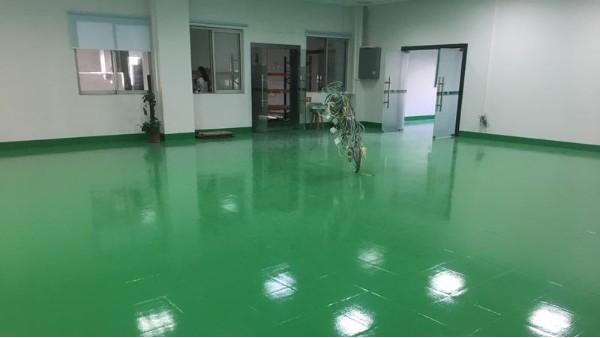 昭信照明科技有限公司选用地卫士环氧地坪漆工程