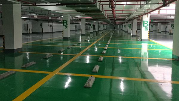 停车场耐磨经济型环氧地坪