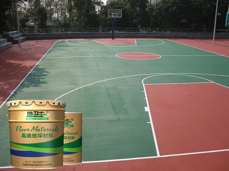 工厂活动区篮球场地坪漆