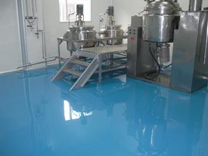 制药厂选择聚氨酯砂浆地坪