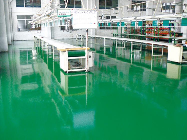 地卫士是如何保证防静电地坪漆施工质量
