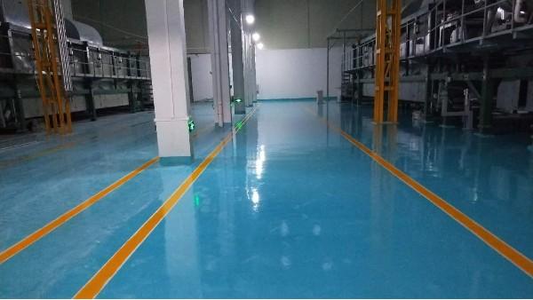 佛山华亨卫生材料有限公司选择地卫士环氧地坪漆翻新工程