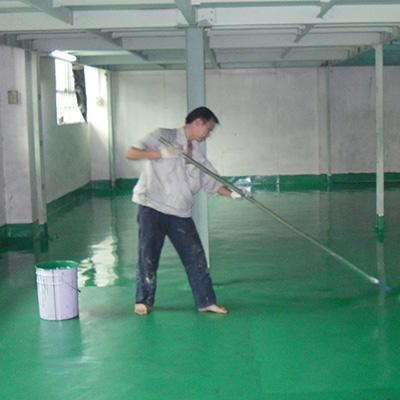 防静电面漆层施工