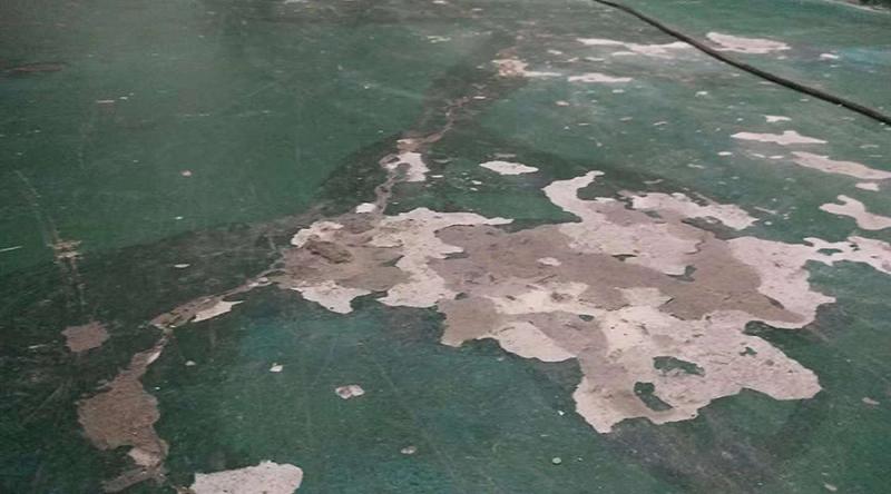 环氧地坪漆脱落