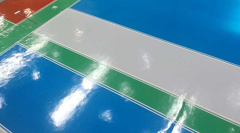 地坪漆工程,工厂地面漆