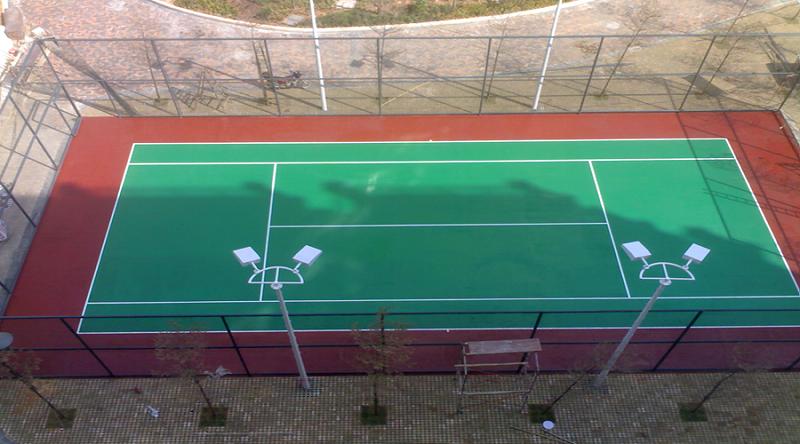 室外篮球场地坪漆