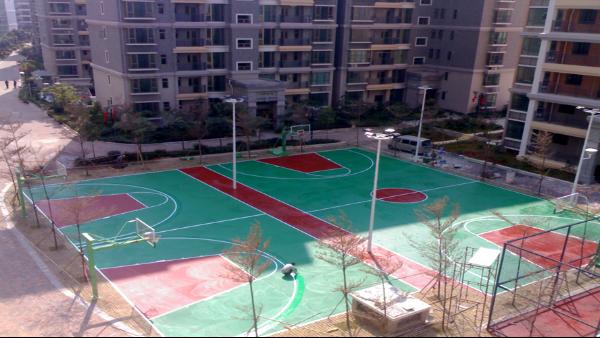 耐候不积水的室外篮球场地坪漆,李总推荐这家!