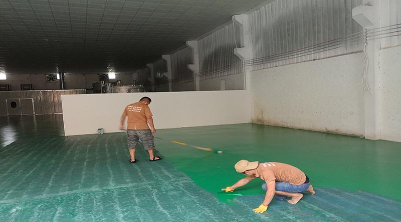 水性环氧地坪漆材料