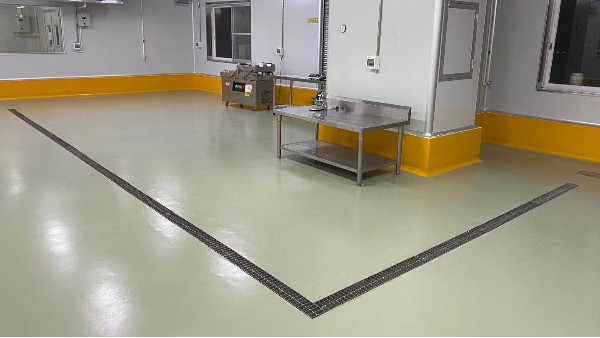 鼎冠食品有限公司选择地卫士环氧地坪漆工程