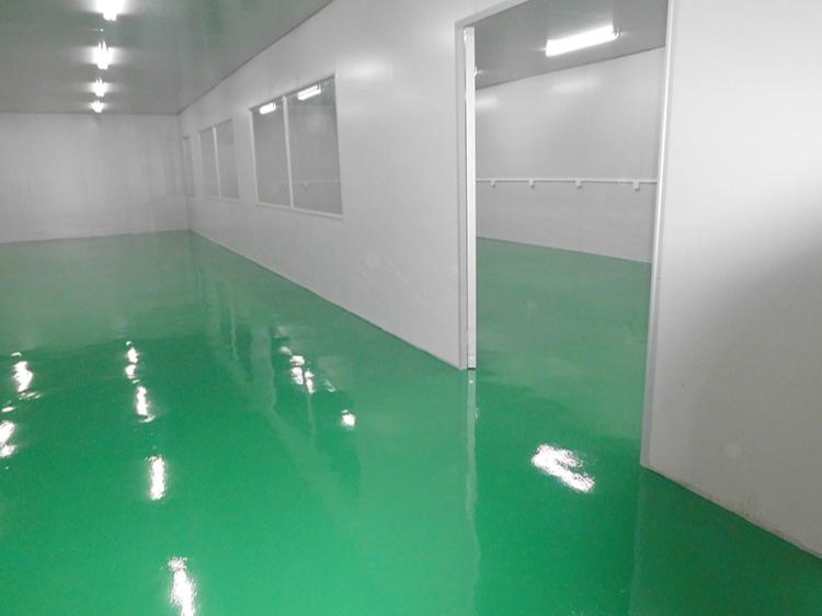 厂房环氧地坪漆破损,如何进行翻新施工