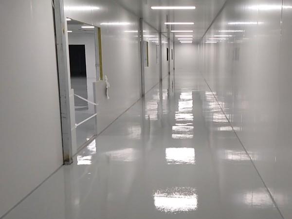新宝科技有限公司选用地卫士环氧地坪漆工程
