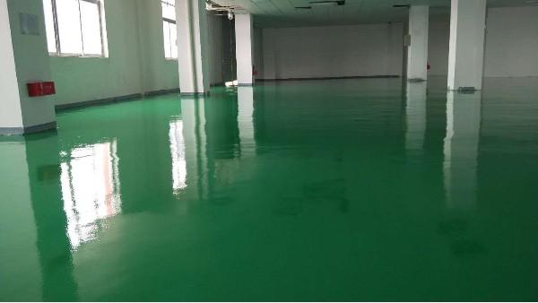 中山腾辉电子有限公司选用地卫士环氧地坪漆工程
