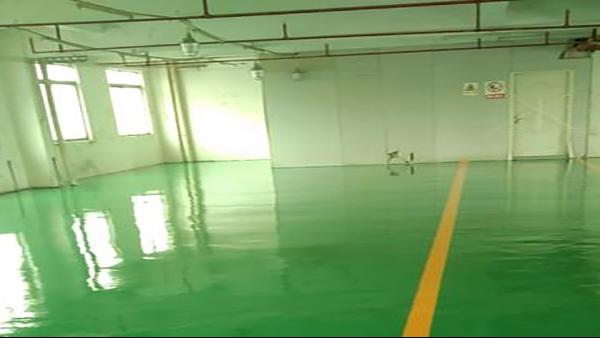 广东帝邦家具有限公司选用地卫士环氧地坪漆工程