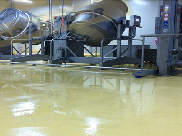 聚氨酯地坪漆—食品行业及其它极端使用环境地坪解决方案