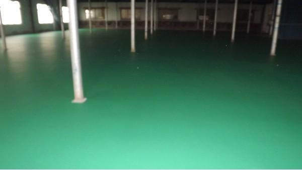水性透气型环氧地坪
