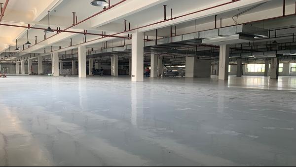 广州市合元包装科技有限公司选用地卫士耐磨环氧地坪漆工程