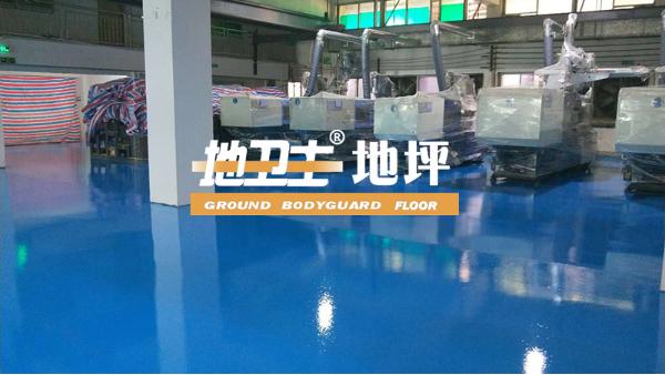 广东力德诺电子科技有限公司采用地卫士滚面耐磨型环氧地坪漆