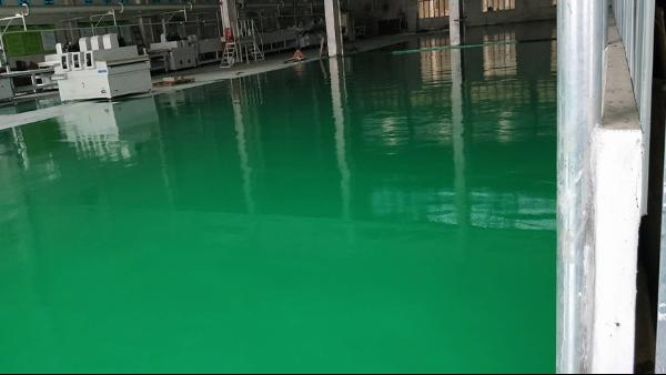 广州康隆木业制造有限公司选用地卫士环氧地坪漆工程