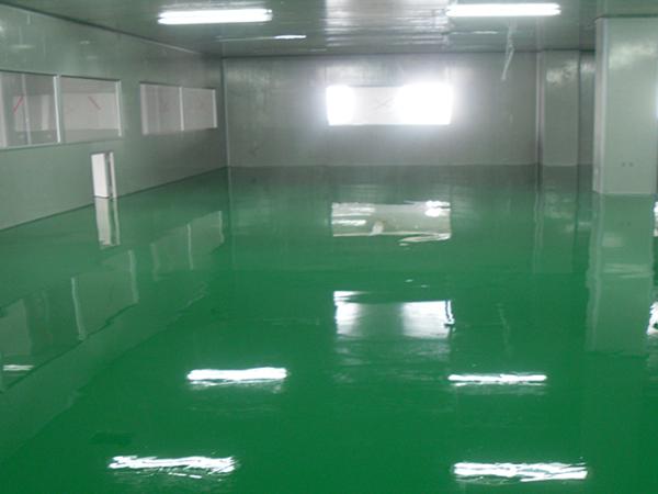 自流平地面漆 符合GMP标准要求