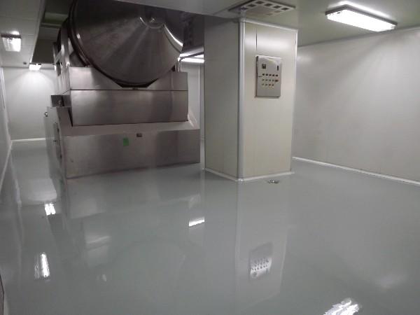 符合GMP标准的自流平环氧地坪漆