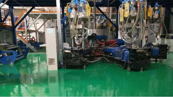 金大盛塑料有限公司选用地卫士环氧地坪漆工程