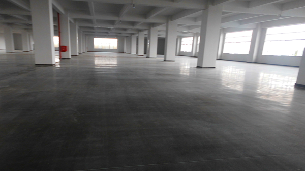 广东雅克新能源科技有限公司选用地卫士混凝土固化剂地坪工程