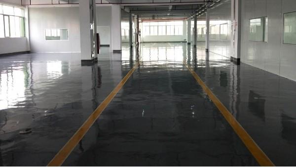 广州市旺磁电子科技有限公司选用地卫士环氧地坪漆工程