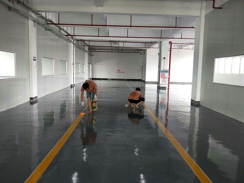 地坪油漆施工