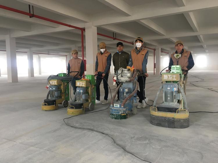 环氧地坪漆厂家施工
