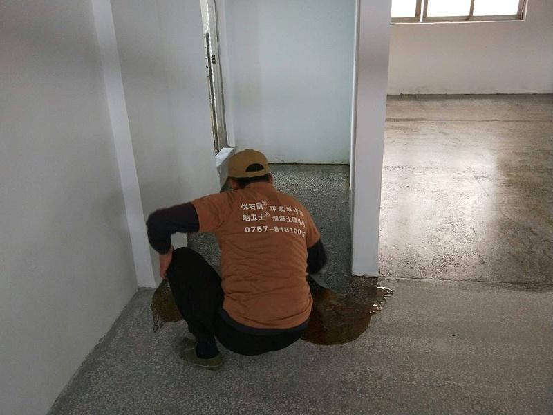 环氧地坪漆施工过程