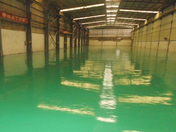 佛山地卫士环氧地坪漆工程表面效果亮瞎你的眼!