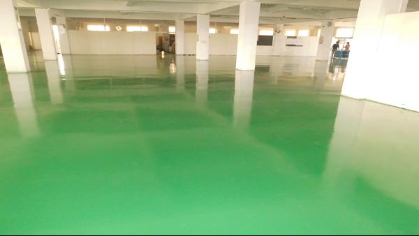 广州鲜达佳农产品有限公司选用地卫士环氧地坪漆工程