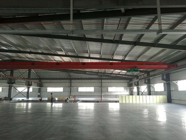 厂房硬化剂地坪做完多久可以使用?