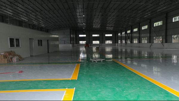 中山艾帕尔机器设备科技有限公司选用地卫士环氧地坪漆工程