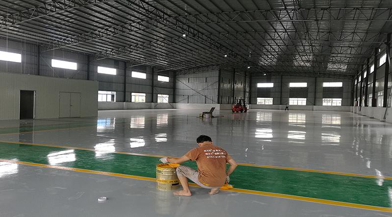 环氧地坪漆施工