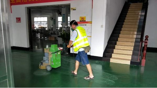 佛山瑞普华机械设备有限公司选用地卫士环氧地坪漆翻新工程
