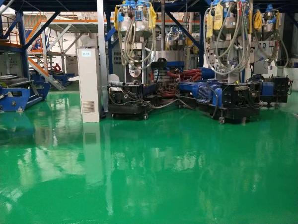 五金厂程总建议车间地坪漆施工找地坪漆源头厂家