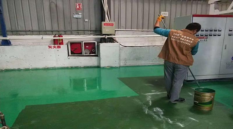 车间地坪漆施工