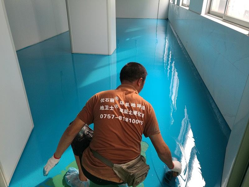 无菌地坪漆施工