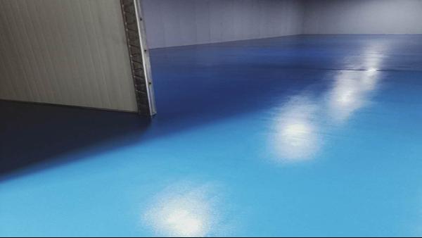 广东顺德金艺林家具实业有限公司选用地卫士环氧地坪漆工程