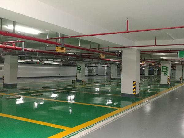 地下停车场车库地坪漆工程多少钱一平方?