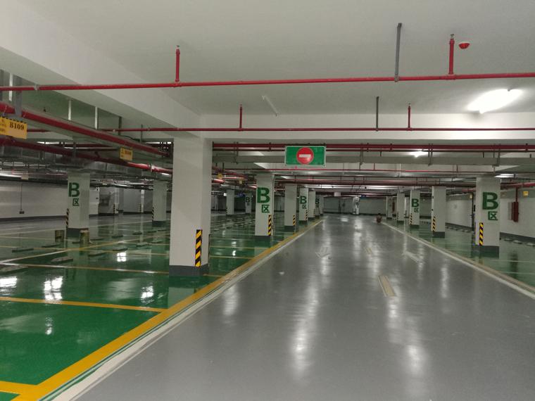 广东停车场地坪漆厂家