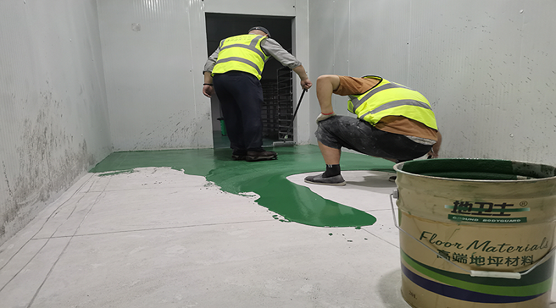 聚氨酯地坪漆,聚氨酯地坪漆施工