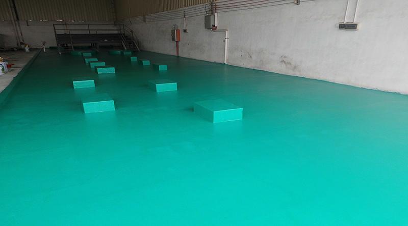 耐强酸碱环氧地坪工程