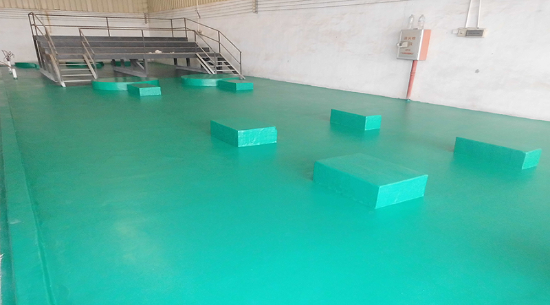 耐强酸碱环氧地坪漆工程