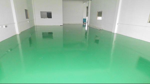 佛山慧氟高分子材料有限公司选用地卫士环氧地坪漆工程