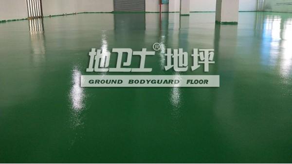广东顺德洤露环保科技有限公司采用地卫士环氧地坪漆翻新