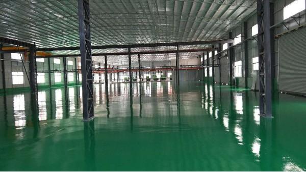 泰龙塑胶制品有限公司选用地卫士环氧地坪漆工程