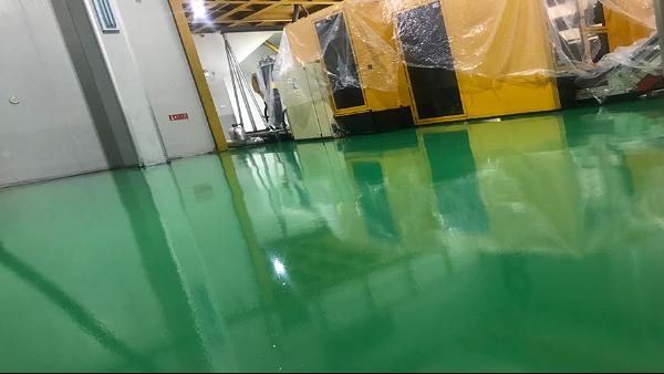 佛山市盛之杰包装制品有限公司选用地卫士环氧地坪漆工程