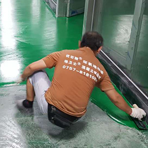 第7步、环氧色漆施工